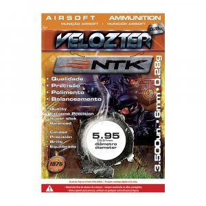 Municao Airsoft BB'S Velozter 0,28gr Cal 6,0mm